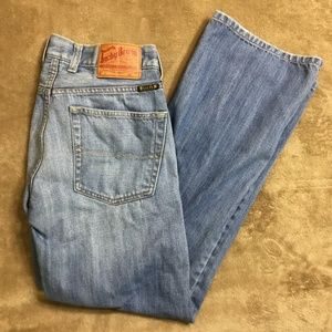 Lucky Brand Womens Size 31 Slim Bootleg Button Fly